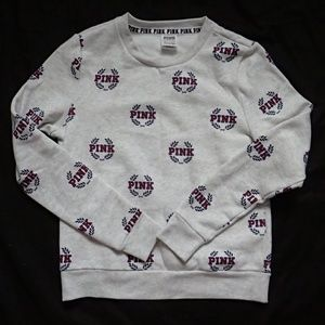 Victoria's Secret PINK Marled Sweatshirt XS - NWT
